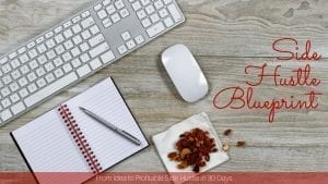 Join the Side Hustle Blueprint course and start your profitable side hustle TODAY!