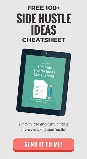 Grab the Side Hustle Ideas Cheat Sheet