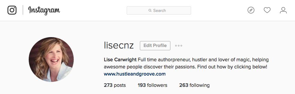 Lise on Instagram
