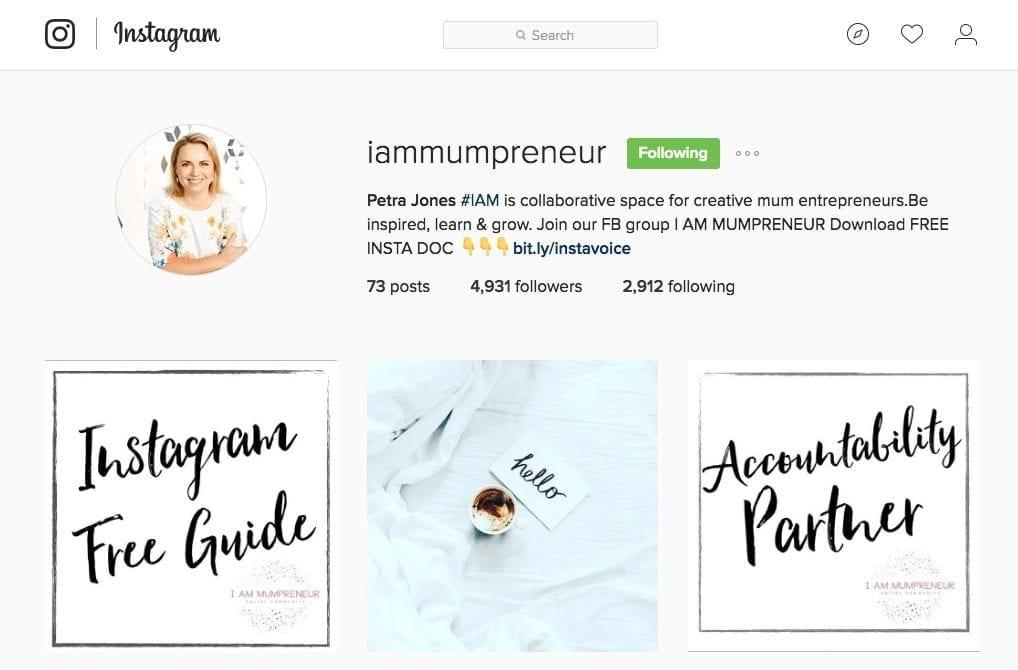 iammupreneur on Instagram