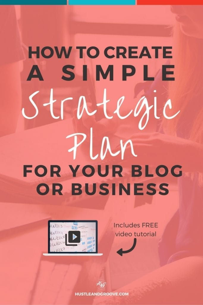 create your own simple strategic plan and why you should