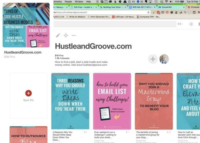 Hustle & Groove Blog Board on Pinterest