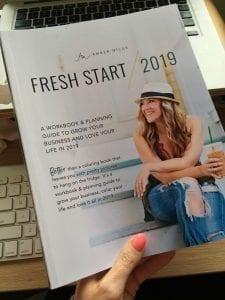Run your own planathon with the Fresh Start Workbook