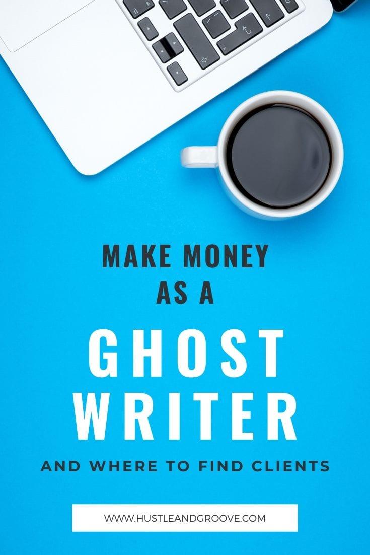 Make money as an ebook ghostwriter