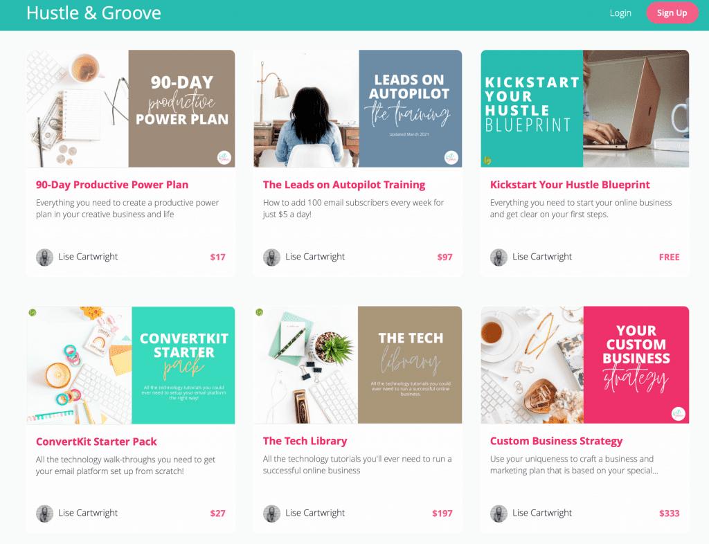 Courses for Creative Entrepreneurs