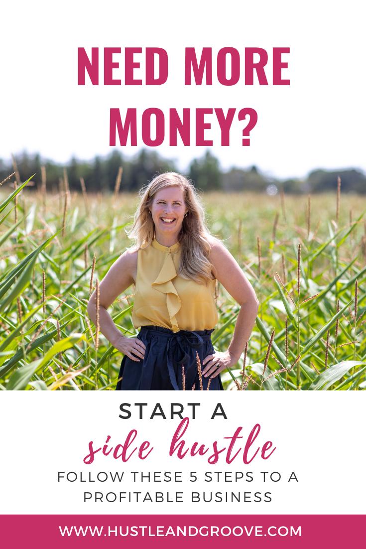 Make more money start a side hustle