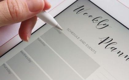 Choosing your ideal schedule, achedule management plan blog header image