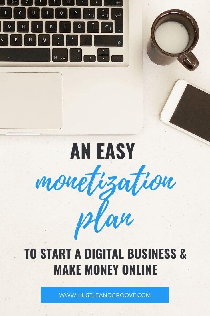 Easy monetization plan to make money online