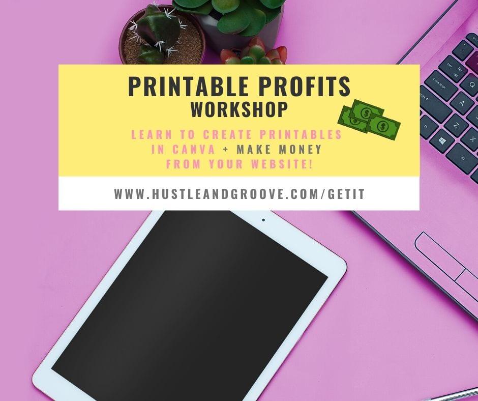 Printable Profits - monetization plan