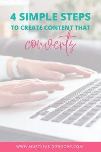 4 Simple steps to create content that converts